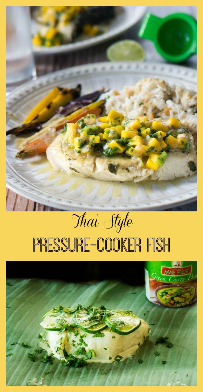Thai style pressure cooker fish recipe banana leaves for Pressure cooker fish recipes