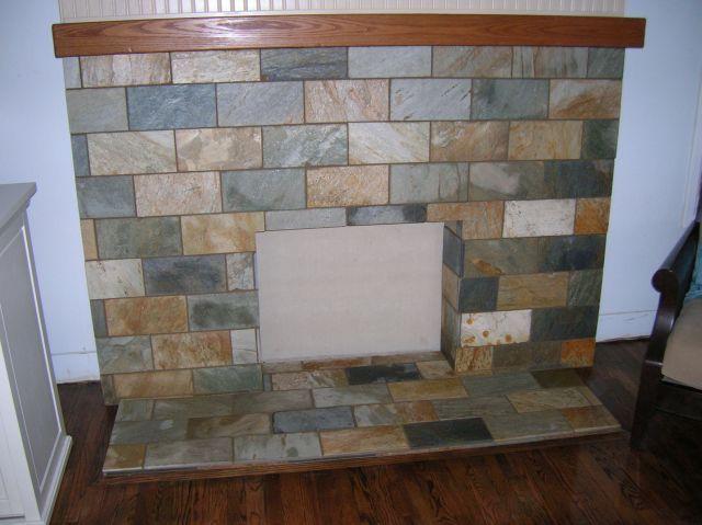 Fireplace designs slate