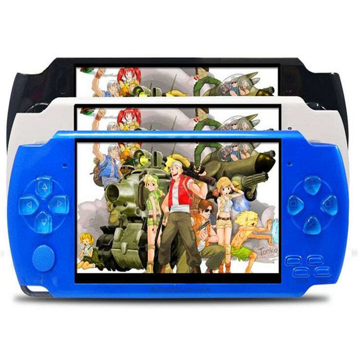 32 Bit 10000 Games Built-In Portable Handheld Video Game Console