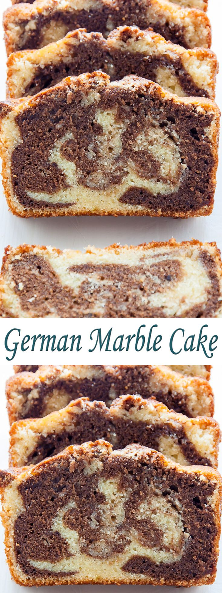 German Marble Cake. #CompleteRecipes #recipe #recipes #food #foodgasm #cleaneating #healthyfood #healthy #healthyrecipes