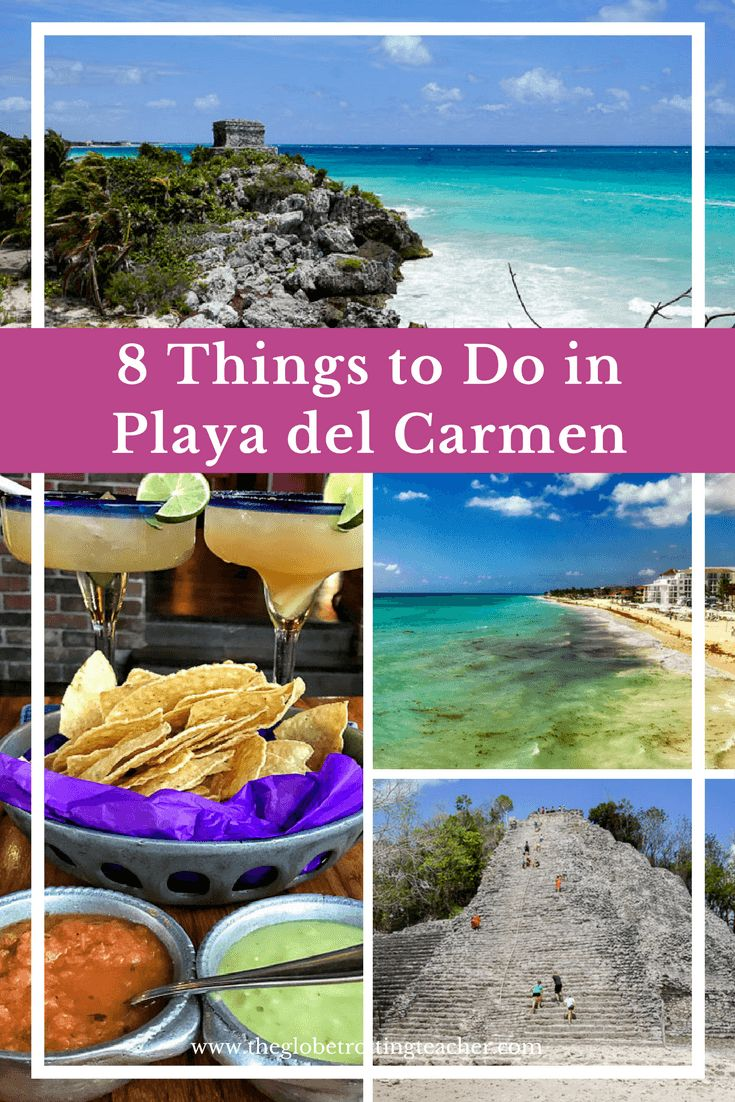 8 Things to Do in Playa del Carmen Mexico...(Or Not) | Travel Mexico | Mexico Vacation | Riviera Maya | Yucatan Peninsula