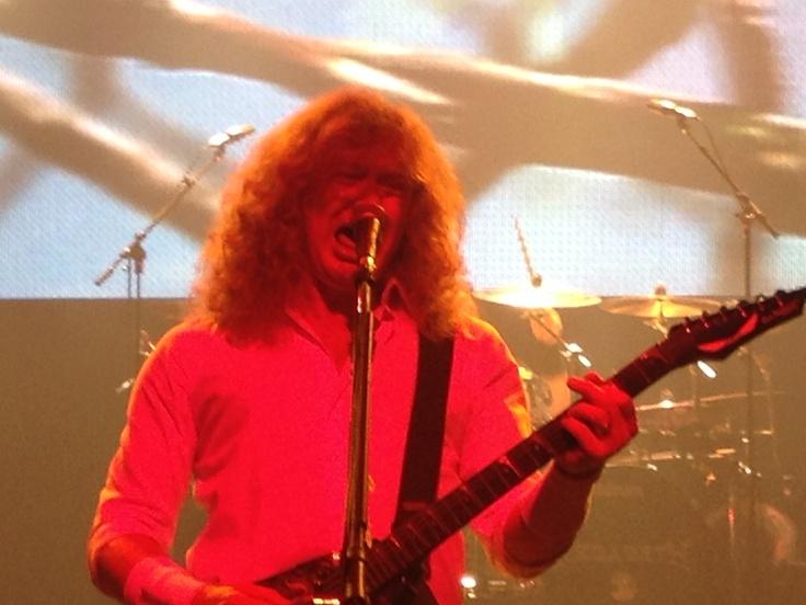 Dave Mustane - Megadeth at Gigantour 2012