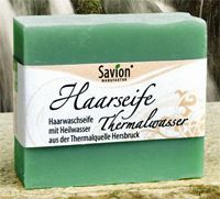 Shampoo ohne Silikone: Haarwaschseifen von Savion