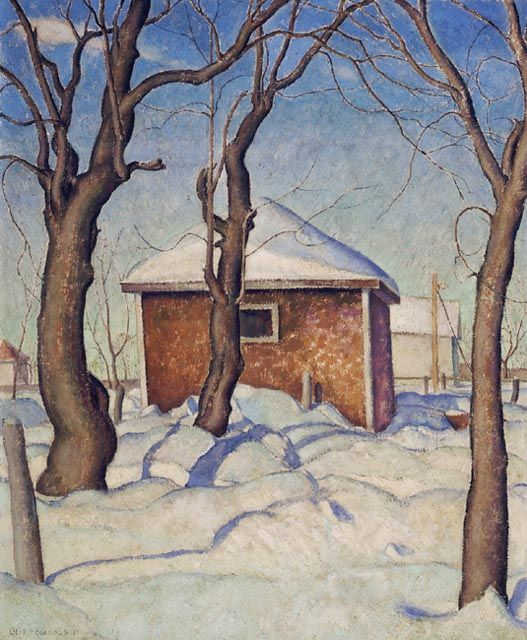Williamson's Garage - Canadian Paintings in the Thirties