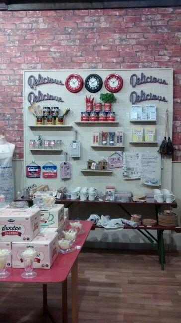 #50's kitchen #kitsch #kitchen #branding