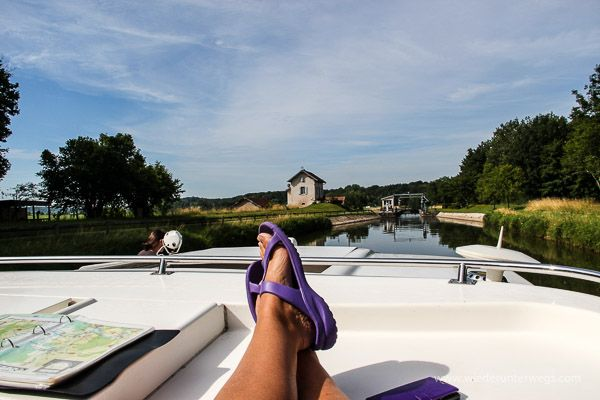 Mit dem Hausboot unterwegs - Bericht - Vom Schippern und Schleusen in Frankreich