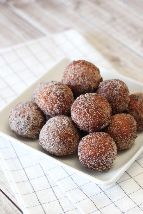 Gluten-Free Vegan Cinnamon Sugar Donut Holes