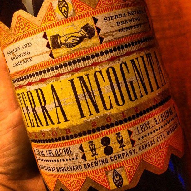 Terra Incognita - Boulevard & Sierra Nevada collaboration beer