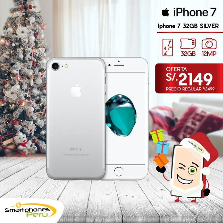 🎊🎄 Solo por esta navidad 🎄🎊 iPhone 7 32GB + 1 Mica de vidrio de regalo. Stock disponible en nuestras tiendas #SmartphonesPerú. Equipos nuevos y originales.  🌟 Garantía   ☎ 01 3292967   📞 980034076 o Whatsapp   🚛 Delivery a todo el Perú  🛍 Av. Petit Thouars 5356 Isla #3 CompuPalace - Miraflores 🛍 Av. La Encalada 1171 Of.302 - Santiago de Surco 🛍 Av. La Molina 1167 Tnda. 132 - CC. La Rotonda La Molina #drones#watches