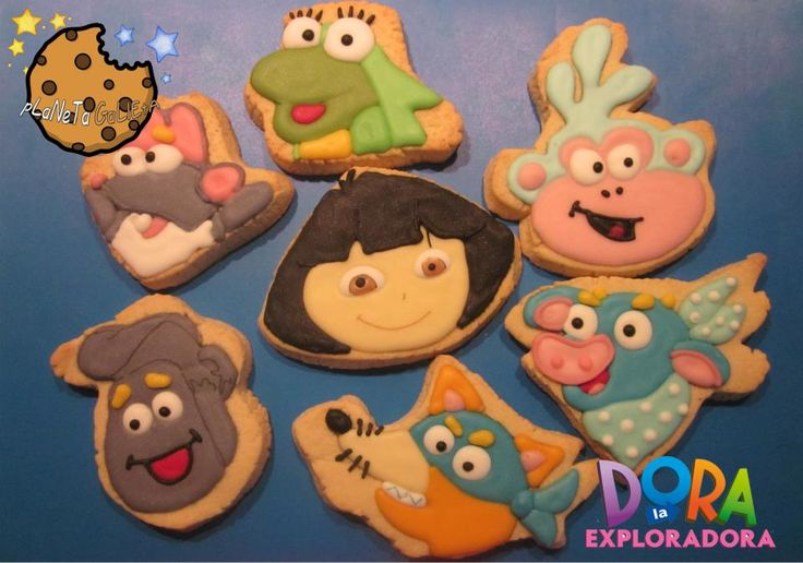 Galletas Dora la Exploradora.