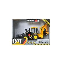 CAT - Job Site Machines Light & Sounds with Remote - Backhoe for Mason?
