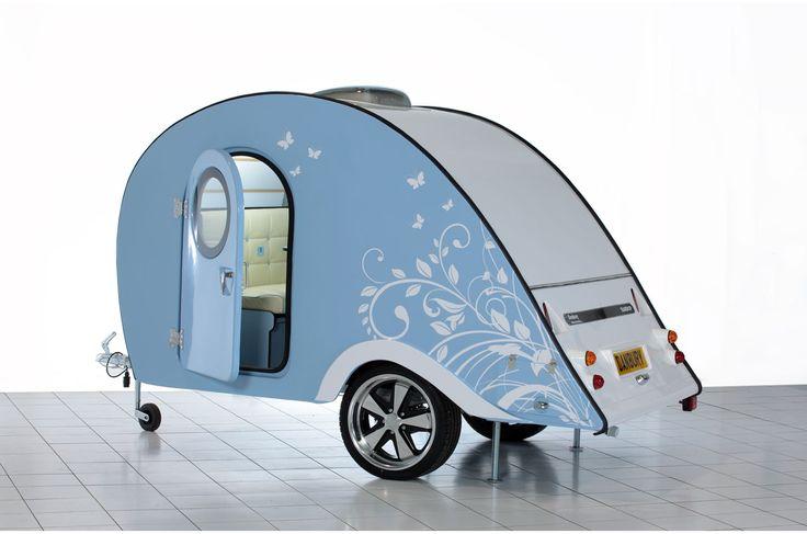 Caravans: Teardrop Range from Danbury campervans, caravans, and trailers.