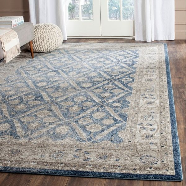 Perfect Safavieh Sofia Vintage Trellis Blue/ Beige Rug (8u0027 X 11u0027) · Large Area ...