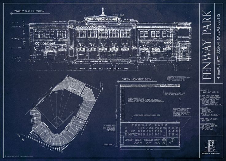 44 best on the wall ballpark blueprints art images on pinterest ballpark blueprints creates and sells unique architecture prints featuring baseball and football stadiums and ballparks a great gift for the sports fan malvernweather Choice Image