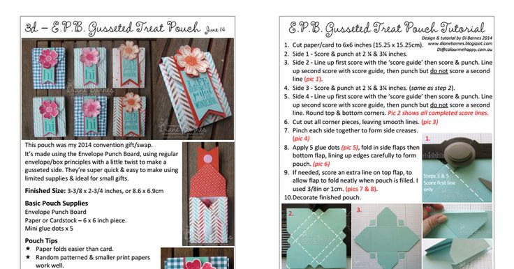 Envelope Punch Board Gusseted Treat Pouch Tutorial - Di Barnes - June 14 A4.pdf