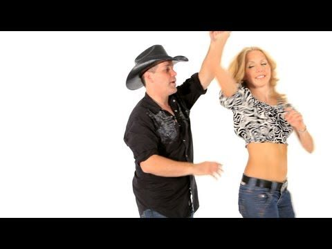Robert Royston! Learn how to do the basic ladies outside turn for country couples line dancing in this how to line dance video by Howcast. Expert: Robert Royston
