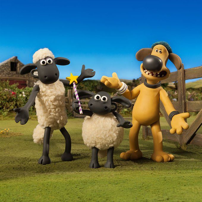 UK fans - don't forget you have a whole week of NEW Shaun the Sheep episodes to look forward to! Episodes start at 3:50pm on @cbbc .