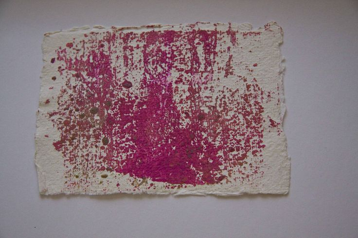 Day 14 Mono Print on cotton rag paper