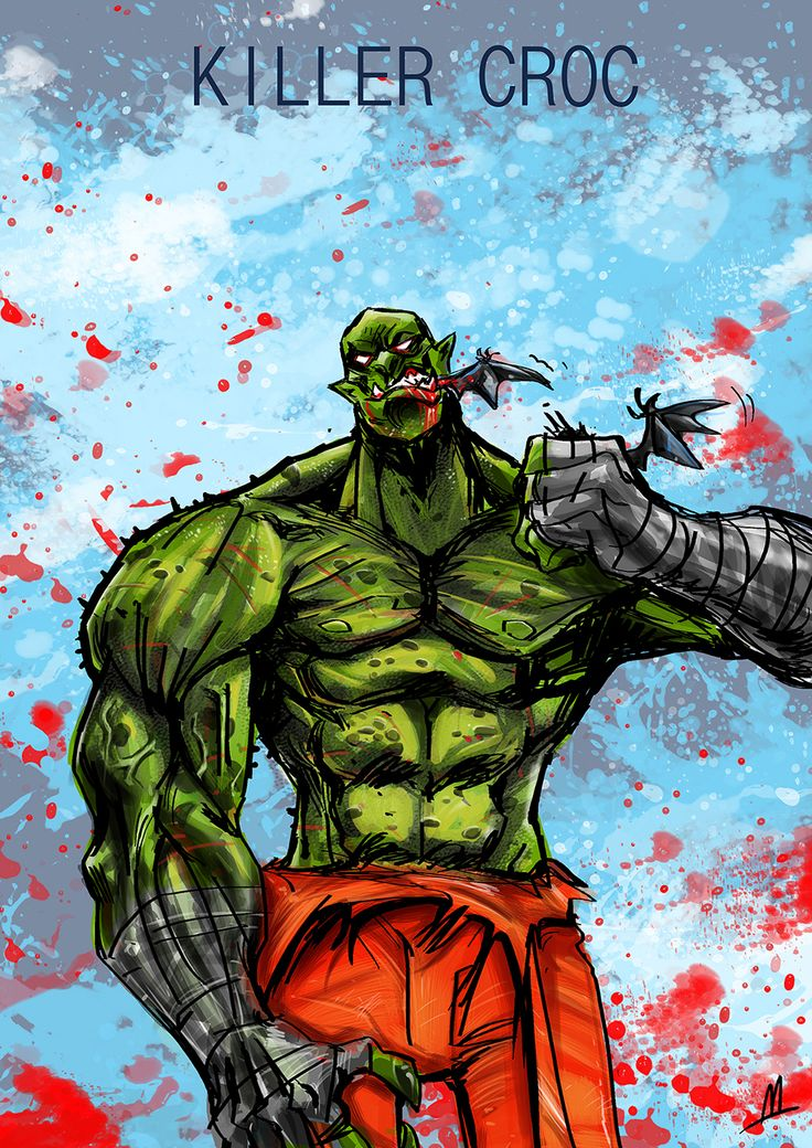 All Killer croc and poison ivy were visited