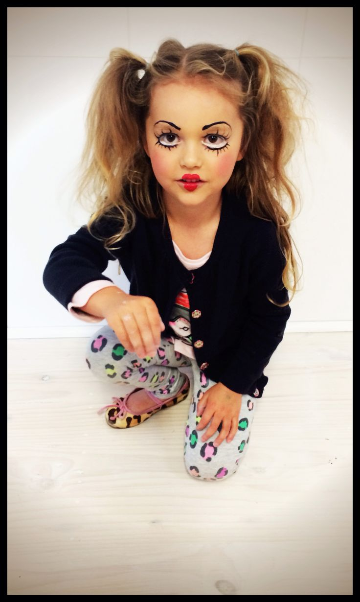 Halloween Kids Makeup Fashion