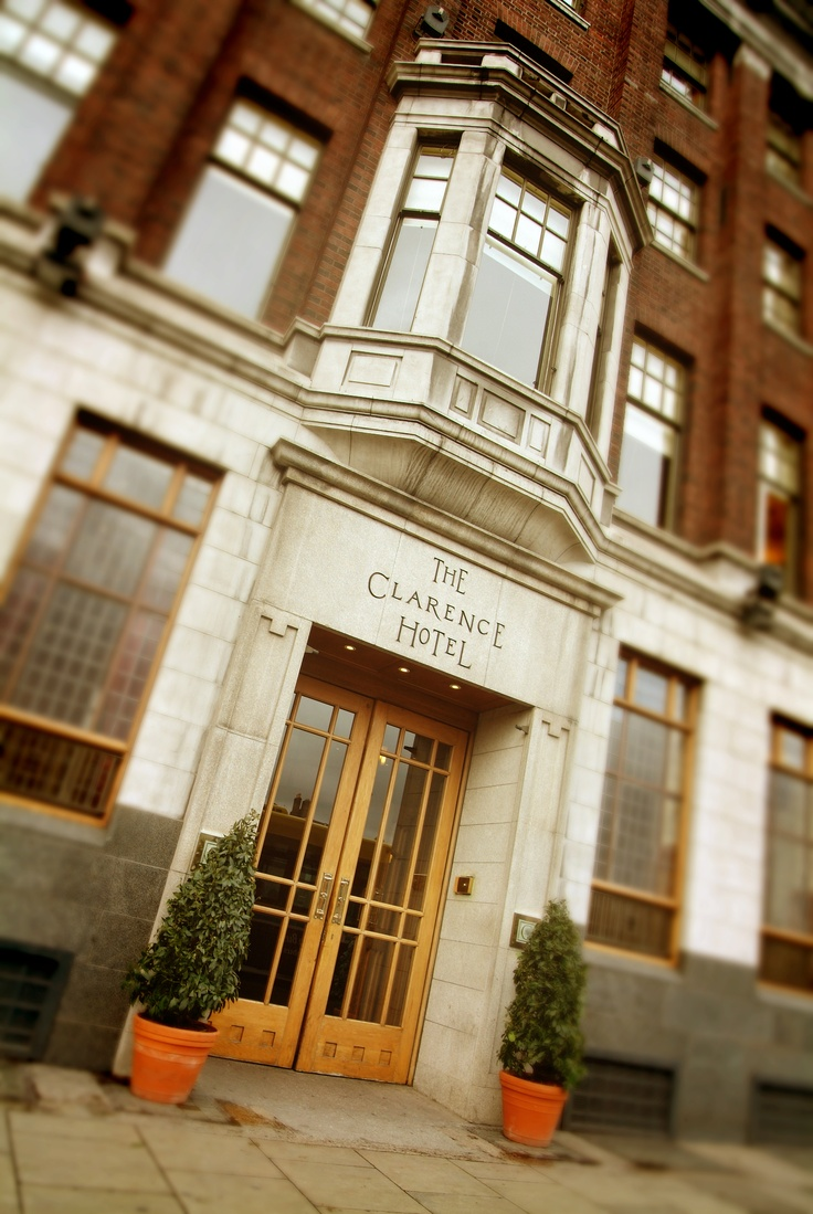 The Clarence Hotel Dublin, Ireland. I want to stay here, it's owned by my favorite band U2 and Clarence was my grandfather's name.