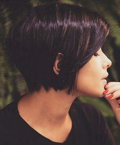 10 Stylish Short Bob Haircuts That Balance Your Face Shape! – Women Short Hair Styles - Love this Hair