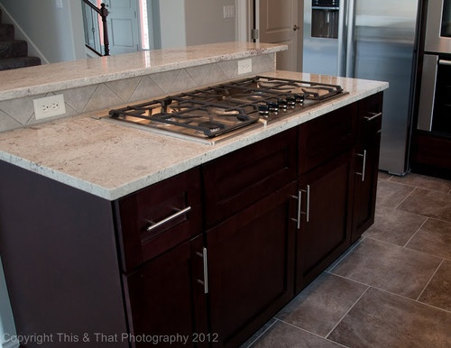 43 Best Images About Kitchen Remodel On Pinterest Kashmir White Granite Cherry Cabinets And Tile