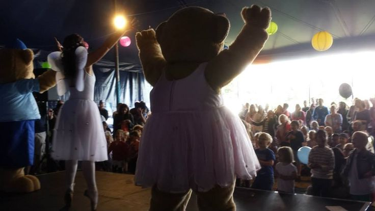 The babyballet characters had so much fun at Lollibop and met so many new friends.