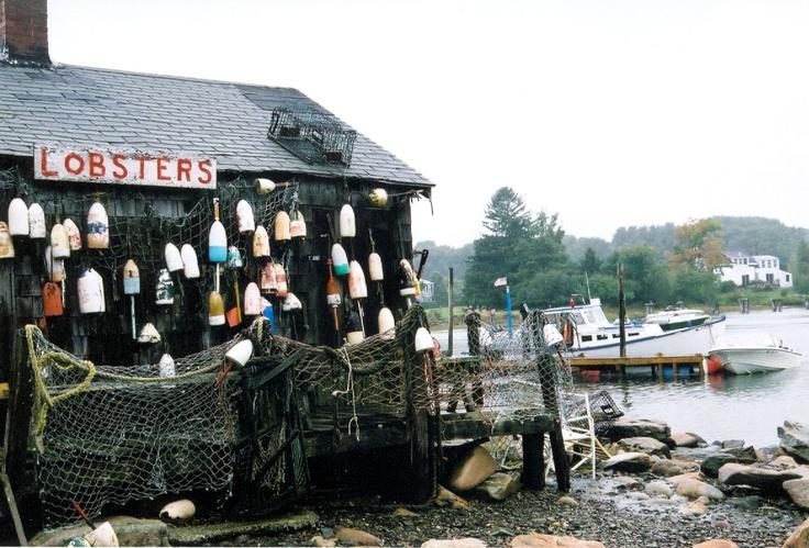 Bait & tackle shop, Maine   My photos Along the Coast ...