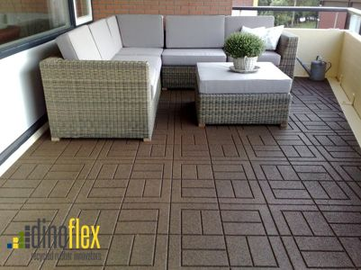 Are you looking for an environmentally friendly option for your patio? Cushionwalk pavers are made of recycled rubber and are a great way to rejuvenate old outdoor spaces. Visit our website www.dinoflex.com for all of our design options. #cushionwalk #dinoflex #uniquelydifferent