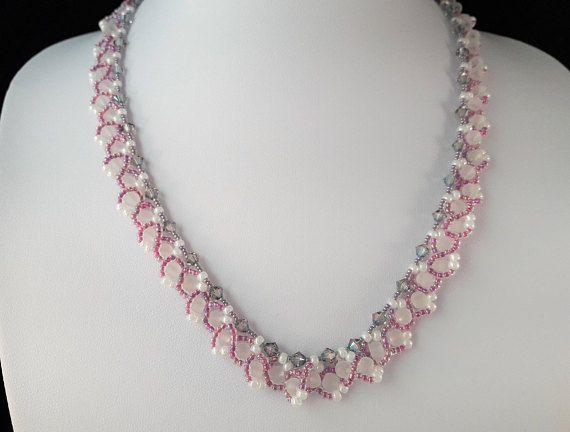 Paarse Halsketting Juwelen met Kristal Prachtige Vrouwen