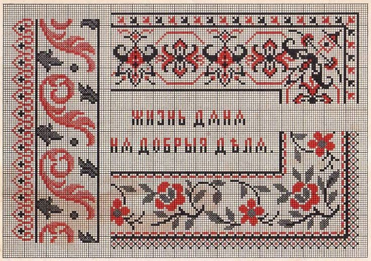 Free Easy Cross, Pattern Maker, PCStitch Charts + Free Historic Old Pattern Books: 1899 - Alphabet and embroidery album on canvas