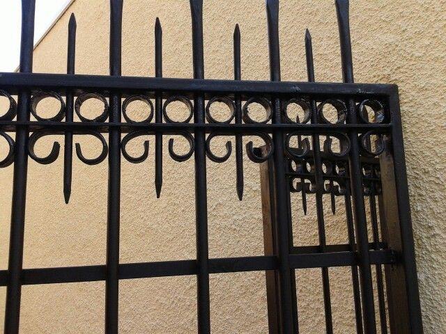 Puerta con diseños