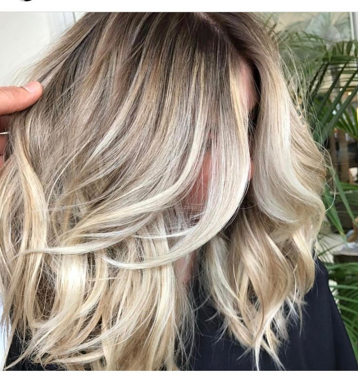 Creamy blonde, I love this colour, I wonder if I could get to it.