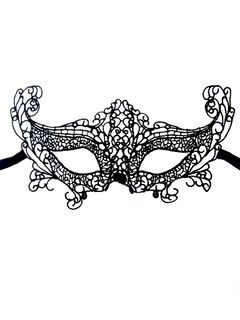 Shop Fox Crochet Lace Mask from choies.com .Free shipping Worldwide.