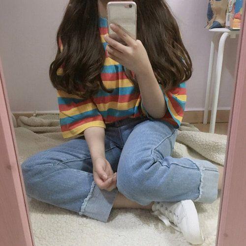 รูปภาพ korean fashion, ulzzang girl, and kfashion