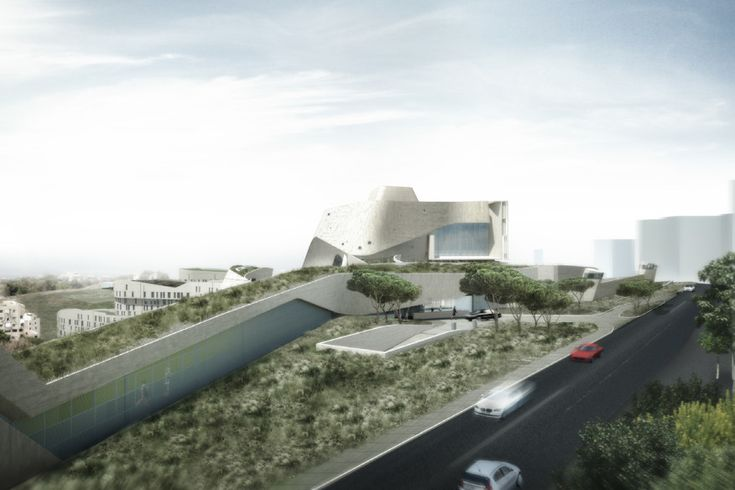 New Morphosis-designed #US #Embassy in #Beirut Breaks Ground | #architecture