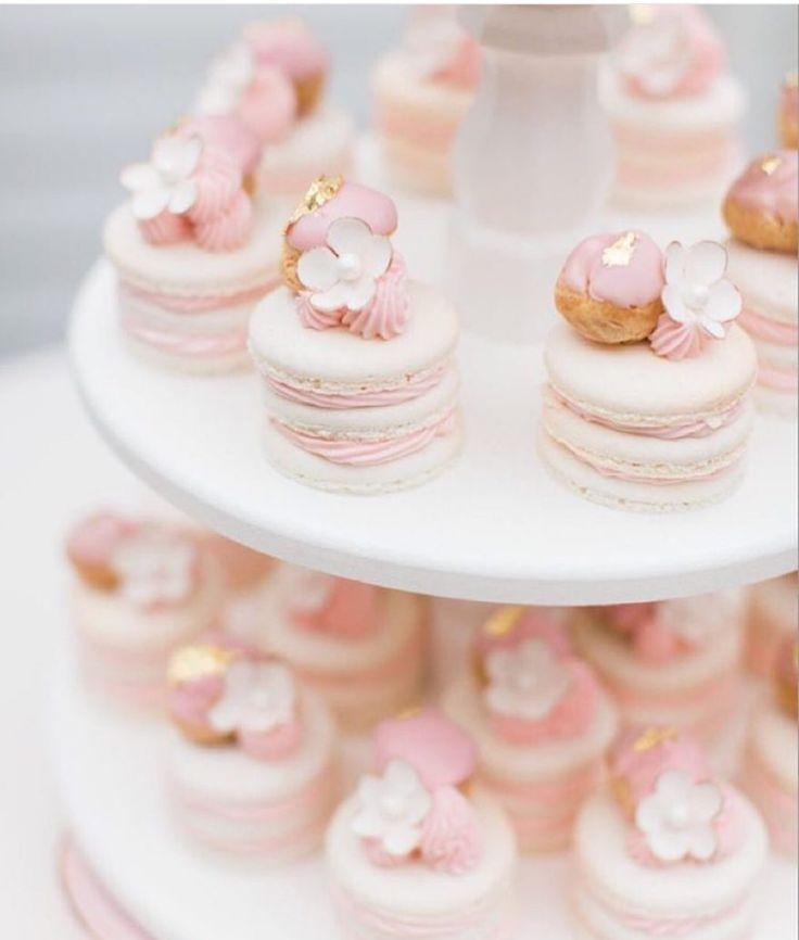Pink blush Macaroons