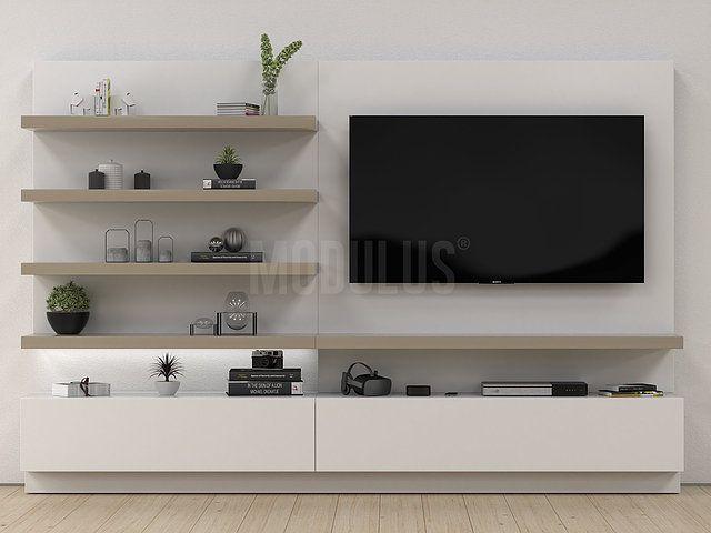 Modulus muebles de dise o contemporaneo wall unit living for Disenos de modulares para living