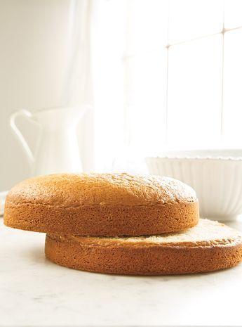☆Fait Recette de Ricardo de gâteau blanc