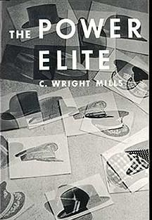 The Power Elite is a book written by sociologist C. Wright Mills in 1956. In it Mills calls attention to the interwoven interests of the leaders of the military, corporate, and political elements of society and suggests that the ordinary citizen is a relatively powerless subject of manipulation by those entities.