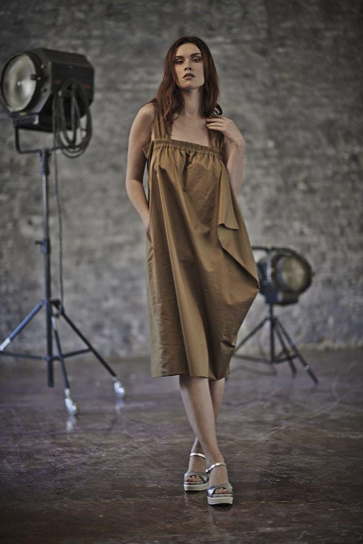 Купить ПЛАТЬЕ САРАФАН БАЛЛОН от Lesel (Лесель) российский дизайнер одежды