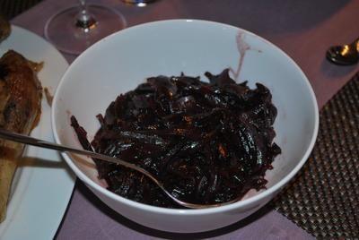 Rezept: Rotweinzwiebeln