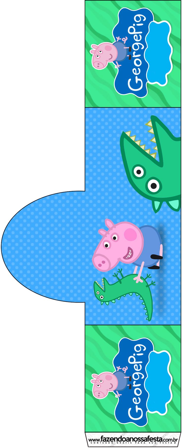 Peppa George Pig Party Printables Kit                                                                                                                                                                                 More