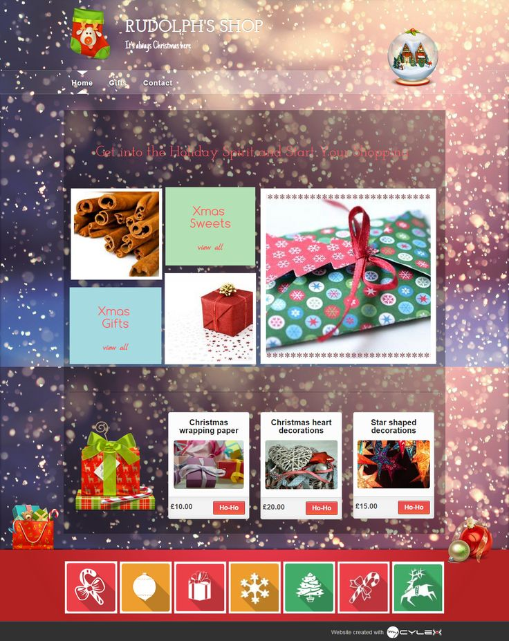Surprise your clients by using a design that expresses: Happy Holidays!   #christmasdesign , #christmastemplate , #mycylex