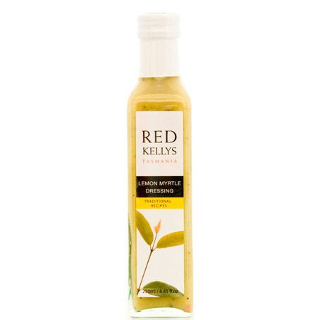 Lemon Myrtle Dressing 245ml / Gluten Free by Red Kellys buy online at Jo-Ann & May's Online Gourmet Food & Gift Provedore www.jomaysgifthampers.com.au