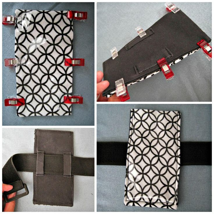 DIY Touchscreen Phone Armband: sewing tutorial   She's Got the Notion