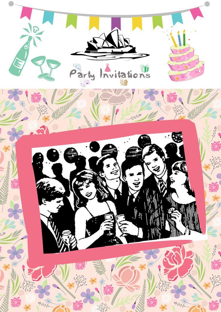 party invitations australia service