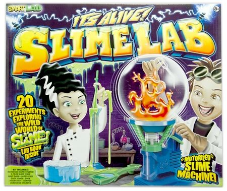 It's ALive Slime Lab-BEST SELLER from Smart Lab brings Slime Experiments to LIFE!! Ships FREE to New England, NJ, NY & PA!
