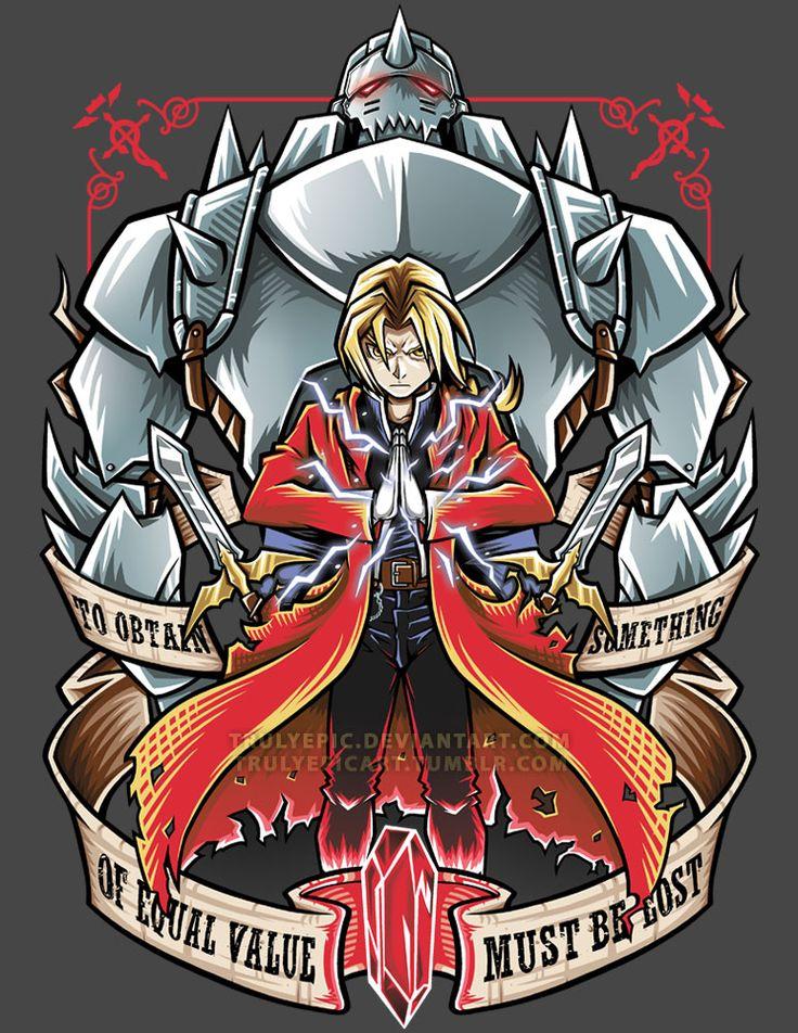 FullMetal Alchemist: Brotherhood by TrulyEpic on DeviantArt